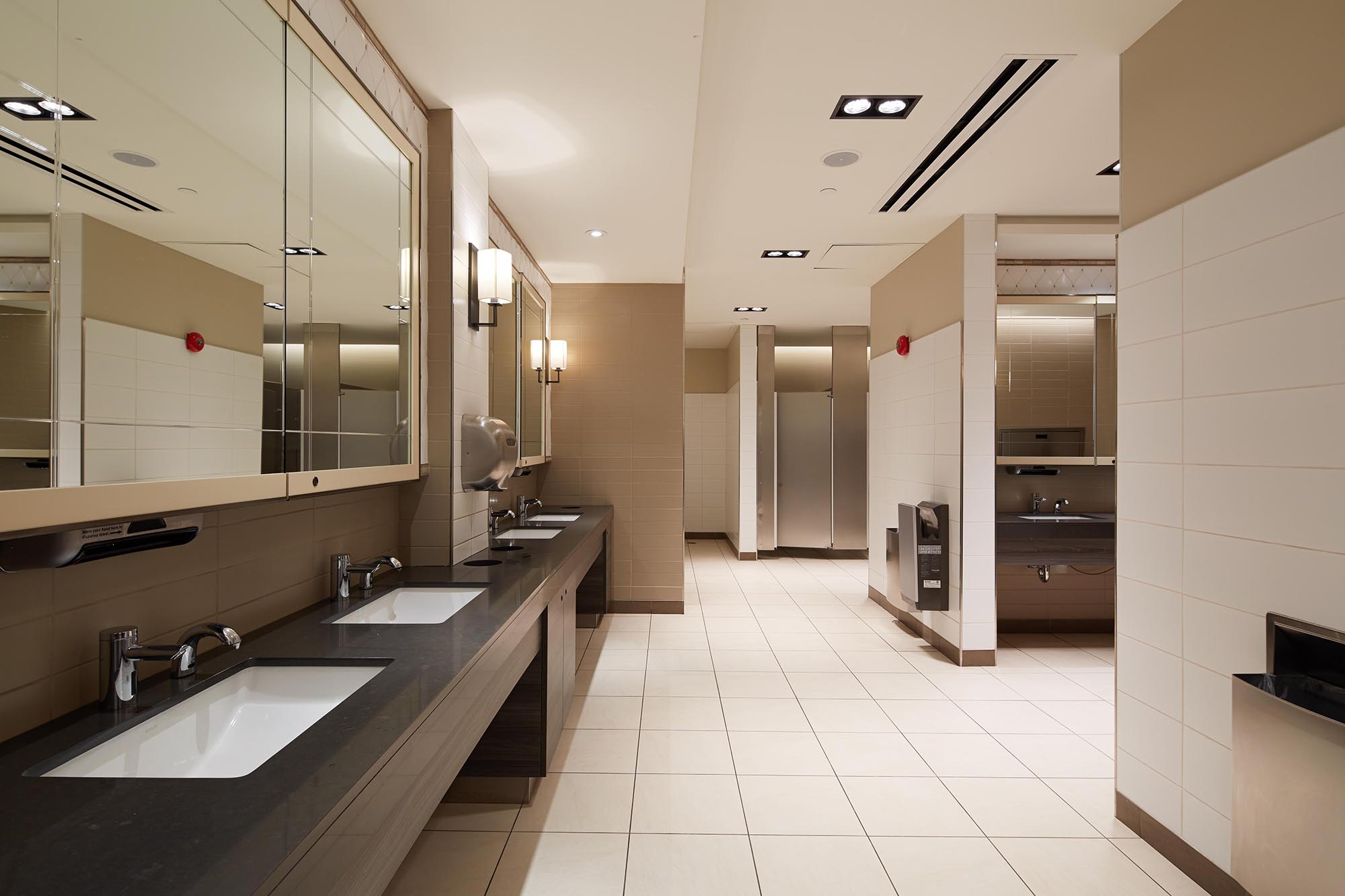 Town centre mall washrooms